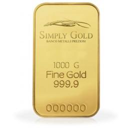 Lingotto oro puro 1 kg